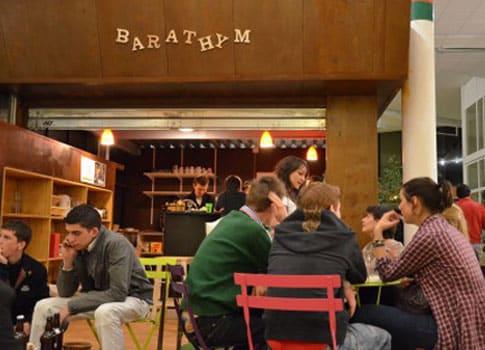 Le café Le Barathym, dans lequel les séances du café philosophique se dérouleront.