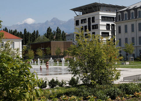 La caserne de Bonne Grenoble Facteur 4