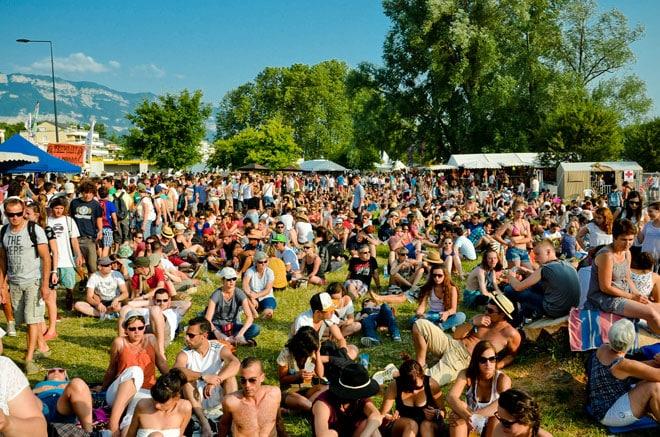 Lors de cette édition 2013, la chaleur n'a pas épargné les festivaliers.
