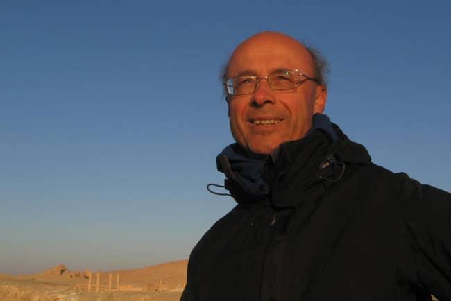 André Weill, enseignant de yoga à Grenoble et marcheur. DR