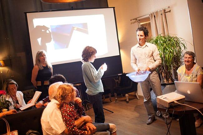 Lancement de Place Gre'net, le 10 septembre 2013 à Grenoble. © Véronique Serre
