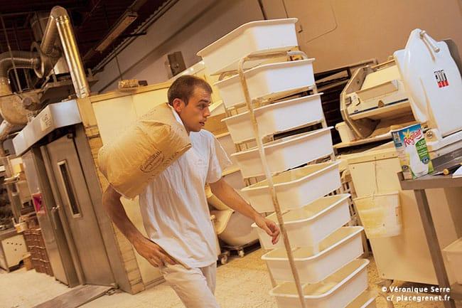 Travailleurs de nuit : boulanger © Véronique Serre