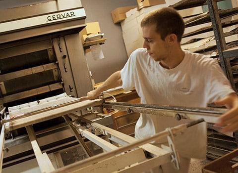 Travailleurs de nuit : boulanger. © Véronique Serre