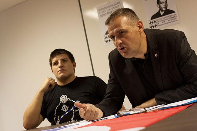 Extrême droite à Grenoble avec Alexandre Gabriac fondateur des Jeunesses nationalistes.