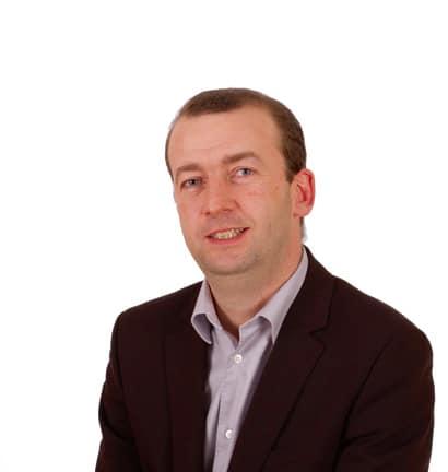 Matthieu Chamussy, conseiller municipal UMP de Grenoble et co-président de la commission des finances, budget et évaluation des politiques publiques de la Métro, tête de liste aux municipales 2014