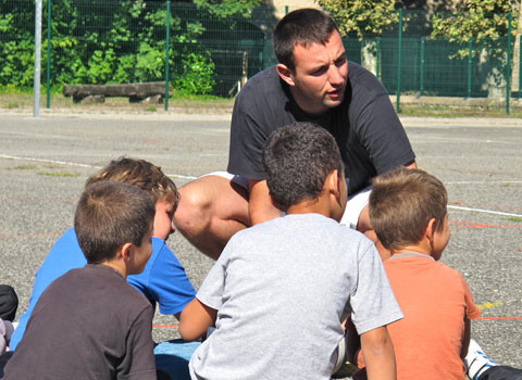 Ecole et rythmes scolaires à Voiron.