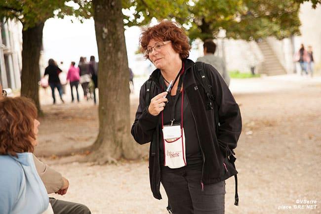Michèle-France Robert, présidente de l'association Le Millésime.