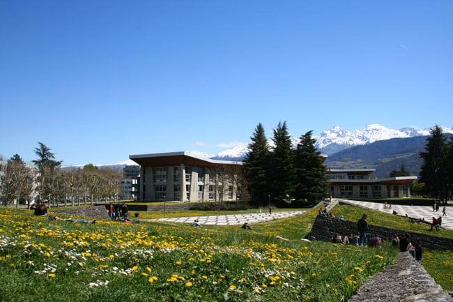Campus de l'Université Grenoble-Alpes © Université de Grenoble