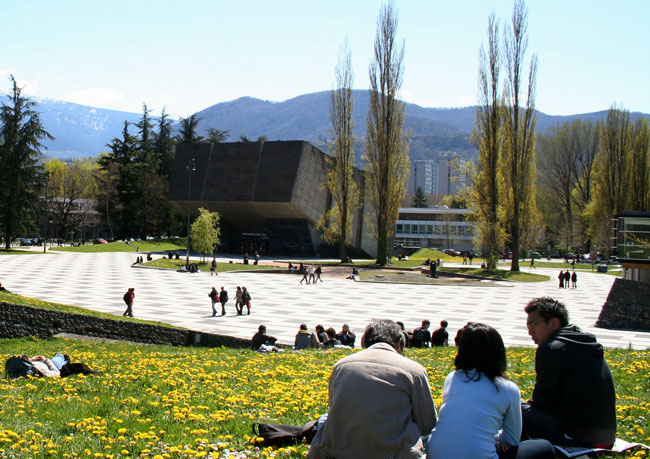 Campus de Saint-Martin-d'Hères © Université de Grenoble
