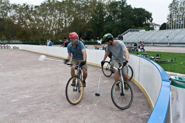 Bike polo Grenoble