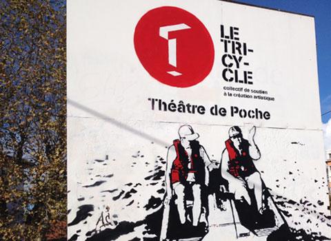 Le ciel dans la peau au théâtre de Poche le Tricycle de Edgar Chias par la Compagnie Les Montures du Temps