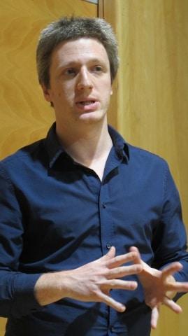 Joël Gombin. sociologue, spécialiste du vote Front Nationale. Photo Patricia Cerinsek