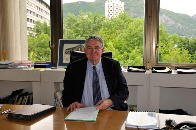 Marc Baïetto, actuel président de la Métro. © Muriel Beaudoing - placegrenet.fr