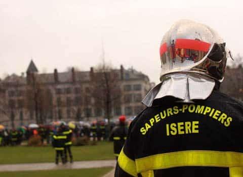 Pompier du Sdis Isère
