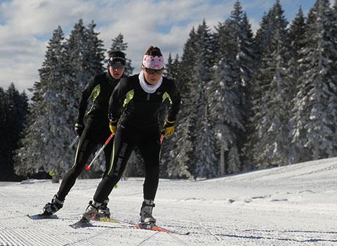 ski de fond sites nordiques