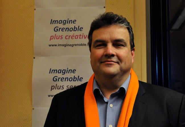 Philippe de Longevialle lors de sa campagne de 2014 © Paul Turenne - Place Gre'net