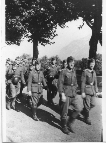 Les troupes allemandes à Grenoble © Musée de la Résistance et de la Déportation de l'Isère