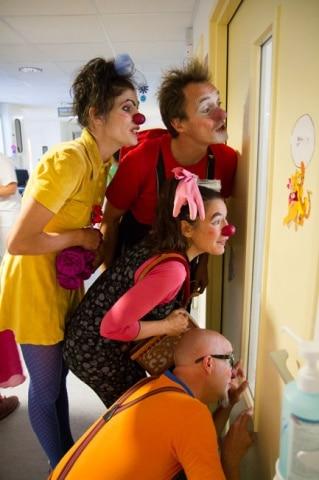 L'association Soleil Rouge amène de la légèreté dans le monde hospitalier © Edgar Barraclough