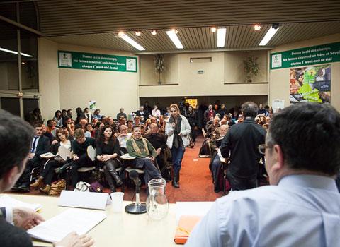 Deuxième débat politique Place Gre'net Club de la presse pour les municipales
