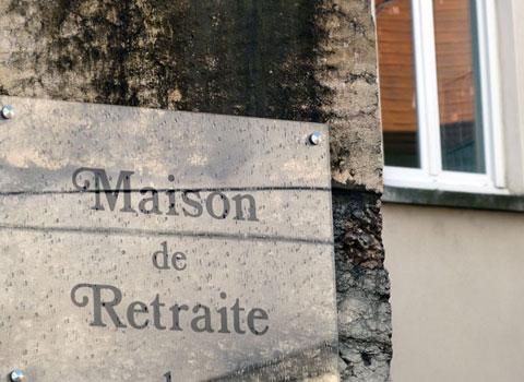 Panneau Maison de retraite Grenoble