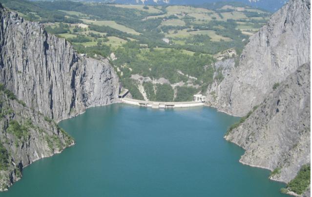 Barrage et centrale hydroélectrique du Monteynard. Site EDF