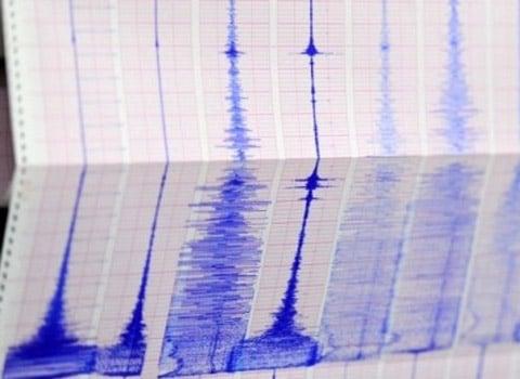 Activité sismique Courbes d'un sismographe séisme tremblement de terre Alpes