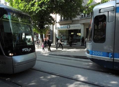 Tram. © Charles Perragin - placegrenet.fr