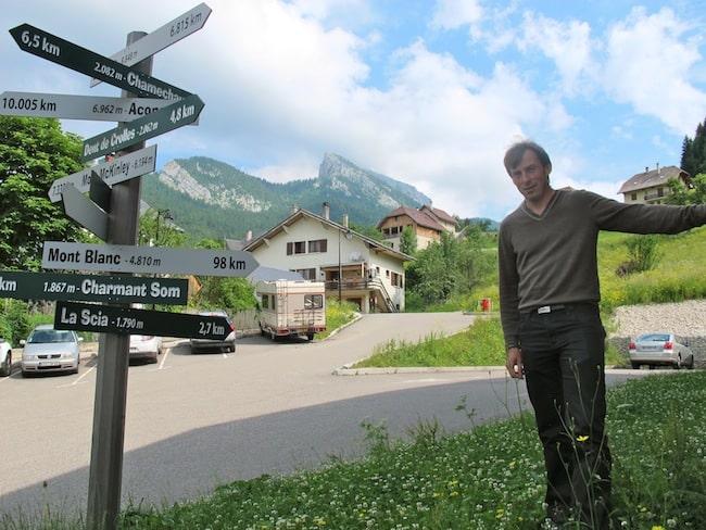 Benoit Laval, PDG de Raidlight et fondateur du réseau Stations trail. © Patricia Cerinsek - placegrenet.fr