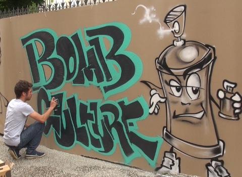 Bomb Kulture. © Joël Kermabon - placegrenet.fr