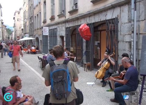 Fête de la musique. © Joël Kermabon - placegrenet.fr