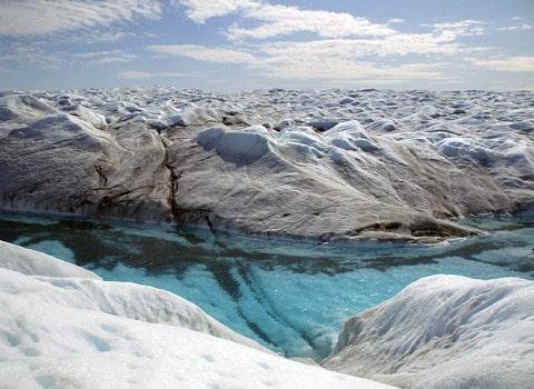 Calotte glaciaire au Groenland. DR