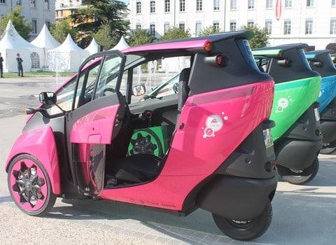 Cité Lib by Hamo, le nouveau service d'autopartage à Grenoble sera mis en service le 1er octobre © Maïlys Medjadj - placegrenet.fr