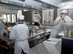 Apprentis cuisinier à l'Institut des métiers et des techniques de Grenoble IMT © CCI de l'Isère