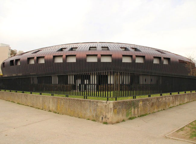 Le collège Lucie Aubrac situé à l'Arlequin arrive dans le bas du classement dans l'Académie de Grenoble. © Ligne A
