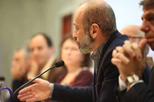 Stéphane Gemmani lors du débat public Place Gre'net « Hébergement d'urgence : quelles issues au fatalisme » © Nils Louna - Place Gre'net