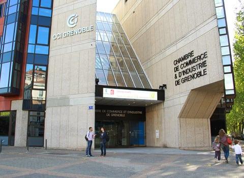 Chambre de commerce et d'industrie de Grenoble CCI chambre consulaire Isère © Chloé Ponset - placegrenet.fr