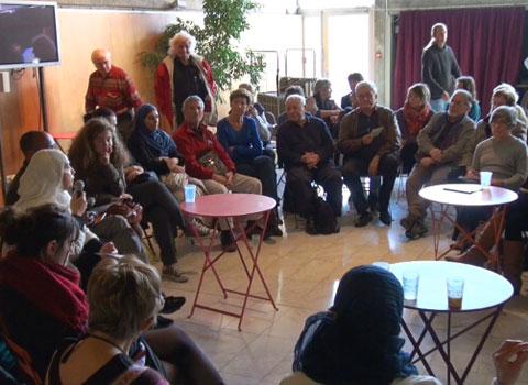 Forum Médias et citoyenneté à la MC2 de Grenoble - Villeneuve © Joël Kermabon - placegrenet.fr