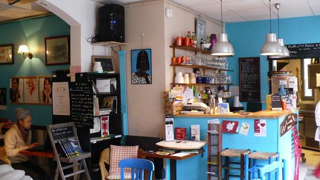 Crédit photo Delphine Chappaz - Café restaurant A l'affût