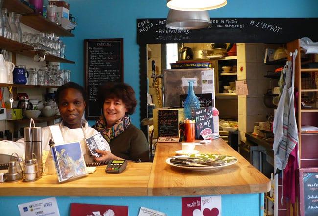 Viérise et Caroline Heysch- crédit photo Delphine Chappaz - Café restaurant A l'affût