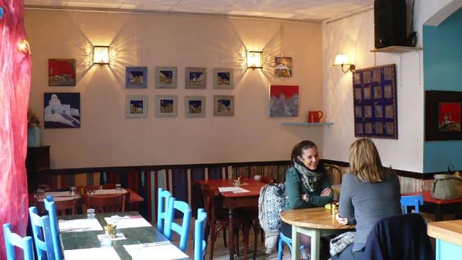 Salle de restaurant de l'Affût - Crédit Photo Delphine Chappaz