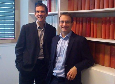 Romain Rambaud spécialiste du droit électoral et Nicolas Kada spécialiste du droit de la décentralisation et du droit des collectivités territoriales DR Blog juridique de Place Gre'net