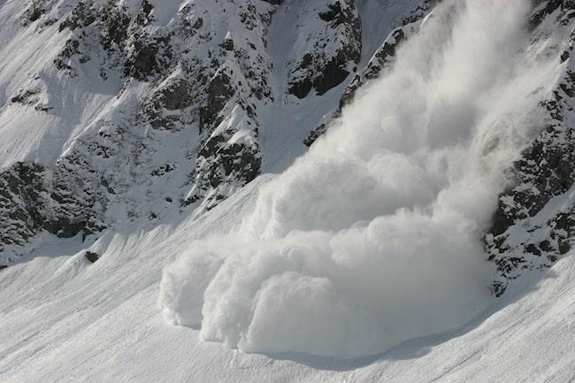 Le risque d'avalanche est élevé dans les massifs isérois du mercredi 27 au vendredi 29 janvier © Aurélien Prudor - Anena