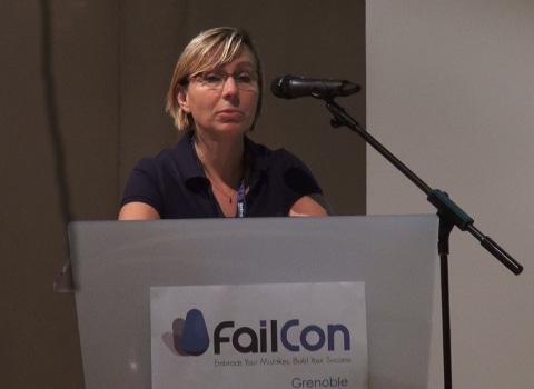 Isabelle Millet, Coorganisatrice de la Failcon Grenoble - © Joël Kermabon - placegrenet.fr