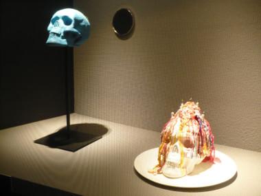 Exposition « Confidences d'outre-tombe ». © Delphine Chappaz