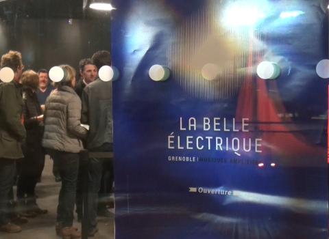 Inauguration de la salle La Belle électrique à Grenoble
