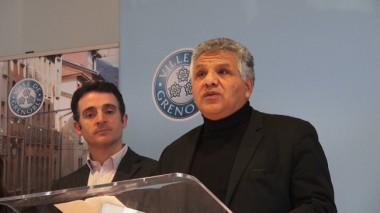 Hakim Sabri lors de la présentation du débat d'orientation budgétaire