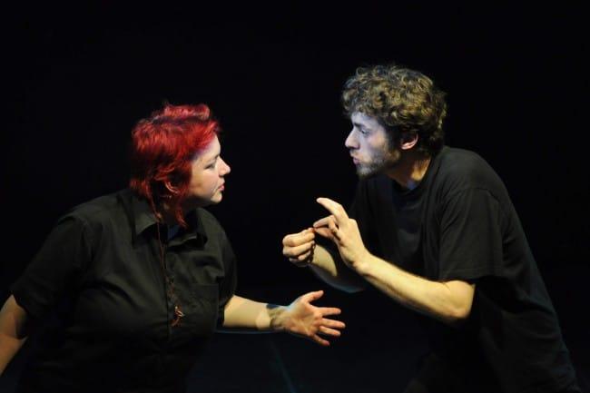"""Troupe de théâtre """"Tête au cube"""" ©CCFD - Terre Solidaire"""