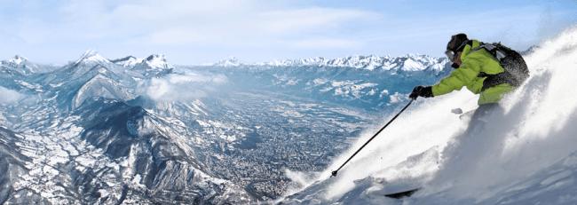 Ski alpin © Grenoble Montagne