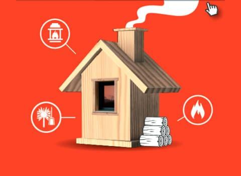 De quel bois je me chauffe ? Mal utilisée, ma cheminée peut polluer ! - pollution chauffage au bois © Grenoble-Alpes Métropole