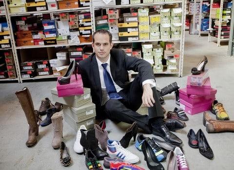 Spartoo, dirigée par Boris Saragaglia, s'apprête à ouvrir un premier magasin dans le centre-ville de Grenoble. © Guillaume Murat